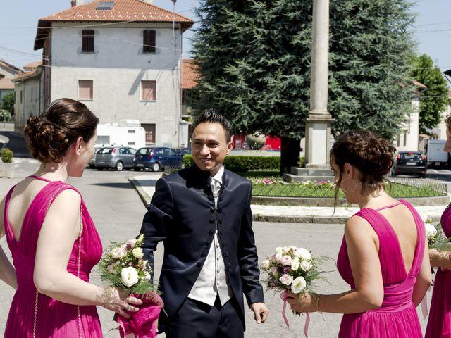 Il matrimonio di Tony e Soraya a Fenegrò, Como 35