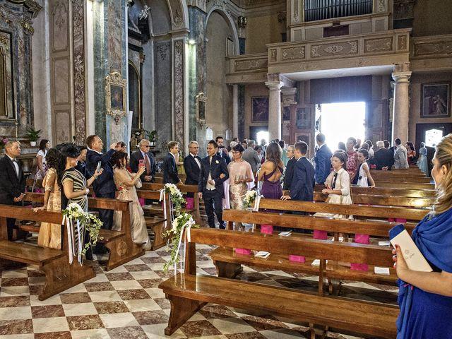 Il matrimonio di Tony e Soraya a Fenegrò, Como 37