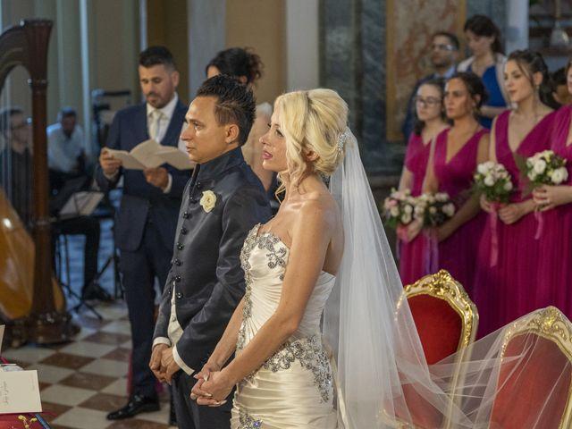 Il matrimonio di Tony e Soraya a Fenegrò, Como 44