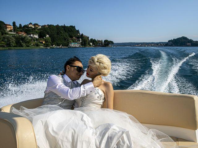 Il matrimonio di Tony e Soraya a Fenegrò, Como 95