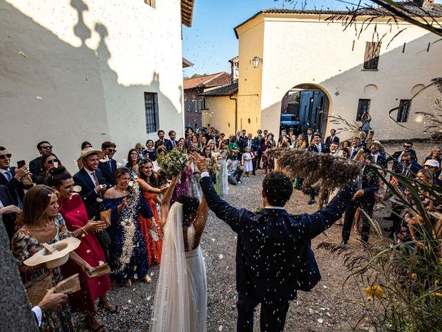 Il matrimonio di Pietro e Costanza a Ozzero, Milano 11