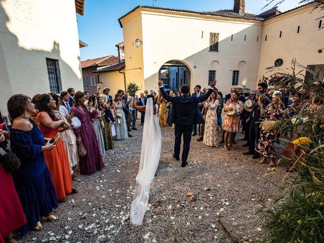 Il matrimonio di Pietro e Costanza a Ozzero, Milano 77