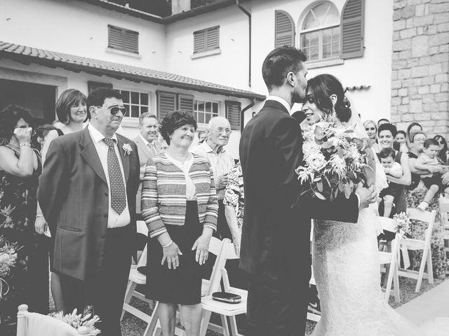 Il matrimonio di Alberto e Sara a Vergiate, Varese 1