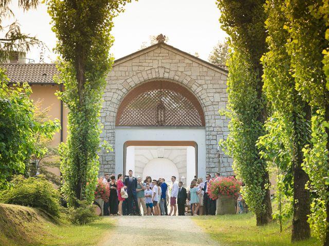 Il matrimonio di Alberto e Sara a Vergiate, Varese 12