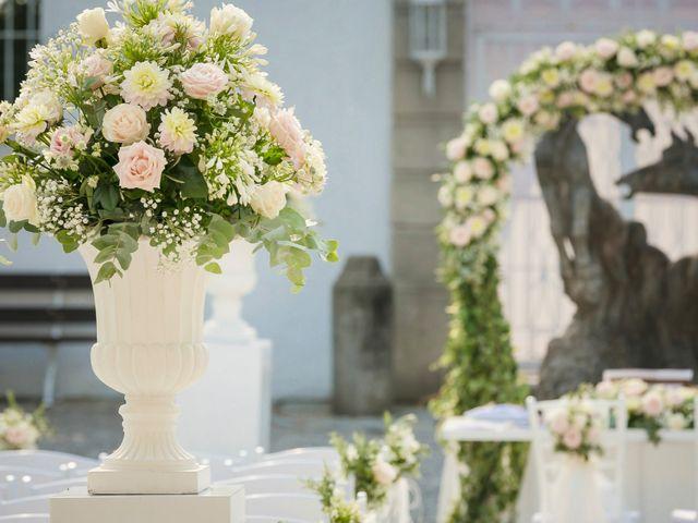 Il matrimonio di Alberto e Sara a Vergiate, Varese 13