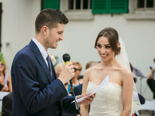 Il matrimonio di Alberto e Sara a Vergiate, Varese 15