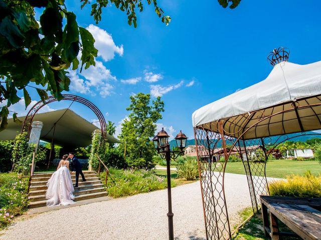 Il matrimonio di Alessandro e Romina a Scanzorosciate, Bergamo 74