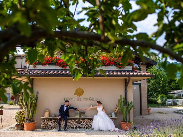 Il matrimonio di Alessandro e Romina a Scanzorosciate, Bergamo 82