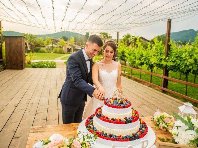 Il matrimonio di Alessandro e Romina a Scanzorosciate, Bergamo 89