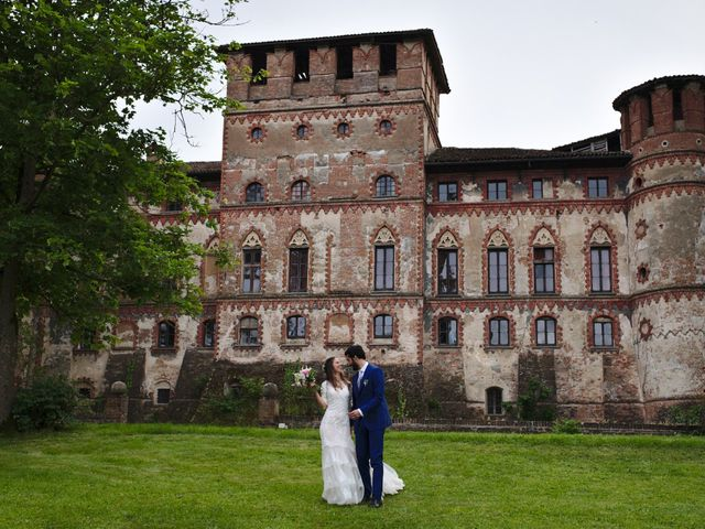 Il matrimonio di Carmelo e Laura a Piovera, Alessandria 123
