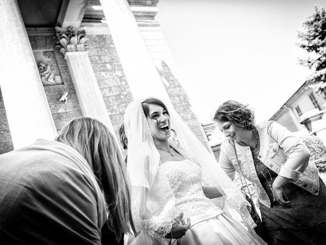 Il matrimonio di Jonathan e Francesca a Merate, Lecco 39