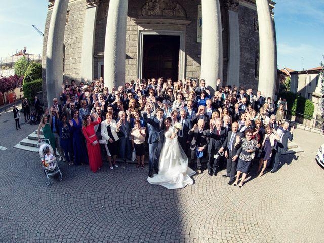 Il matrimonio di Jonathan e Francesca a Merate, Lecco 65