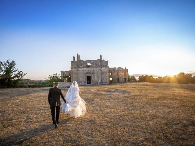 le nozze di Cristina e Fabiano