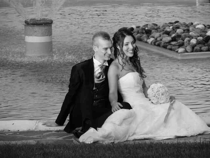 le nozze di Andrea e Jonathan