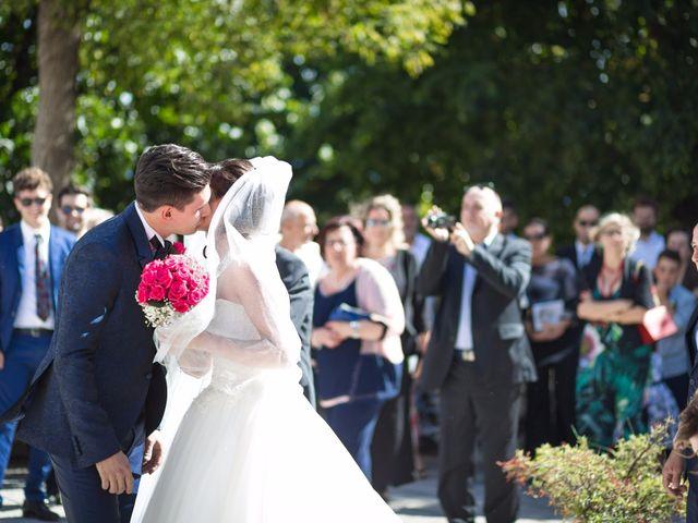 Il matrimonio di Damiano e Elena a Poppi, Arezzo 7