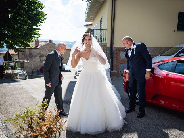 Il matrimonio di Damiano e Elena a Poppi, Arezzo 8