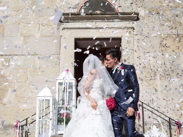 Il matrimonio di Damiano e Elena a Poppi, Arezzo 10