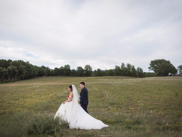 Il matrimonio di Damiano e Elena a Poppi, Arezzo 11