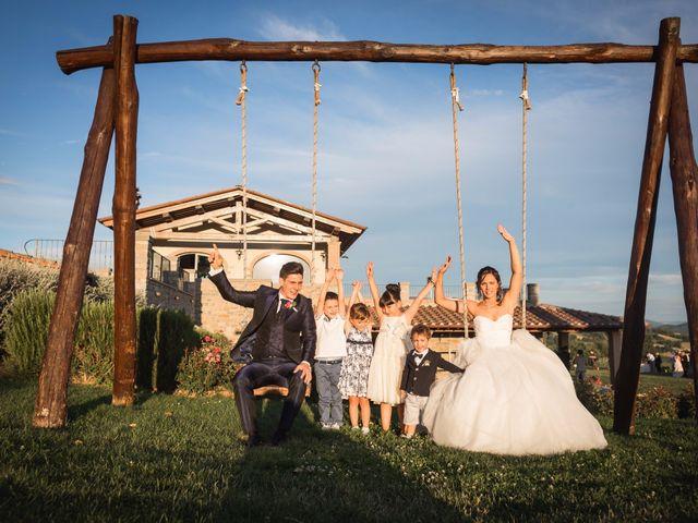 Il matrimonio di Damiano e Elena a Poppi, Arezzo 18