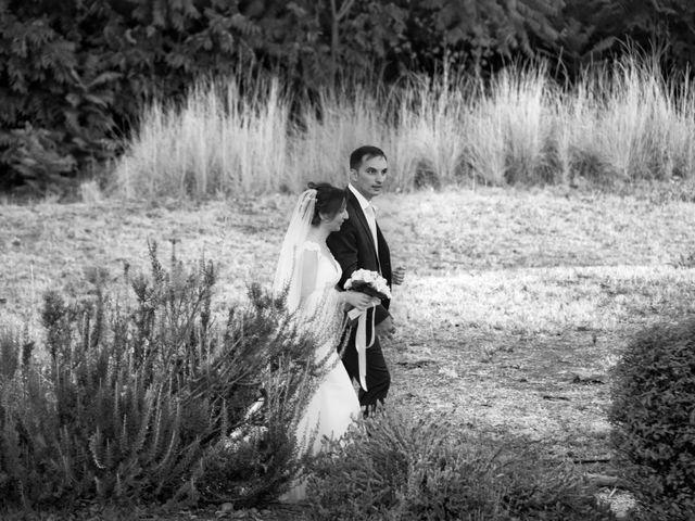 le nozze di Maria Grazia e Enzo
