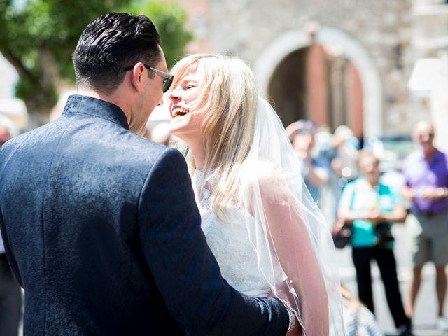 Il matrimonio di Lorenzo e Eva a Taormina, Messina 13