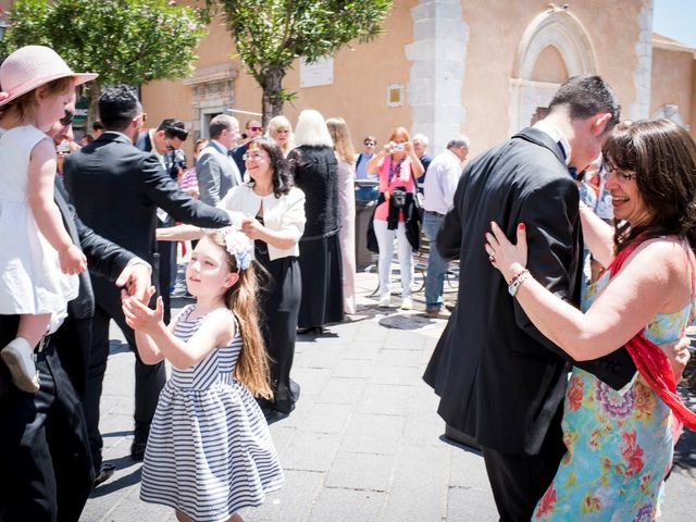 Il matrimonio di Lorenzo e Eva a Taormina, Messina 14