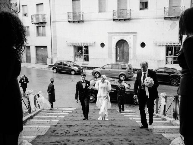 Il matrimonio di Domenico e Silvana a Faicchio, Benevento 14