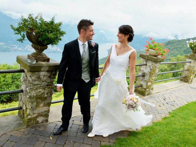 Il matrimonio di Valerio e Claudia a Lasnigo, Como 30