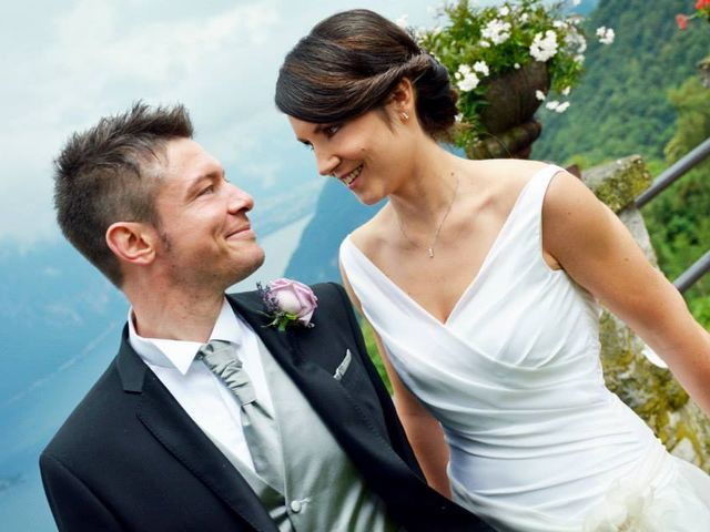 Il matrimonio di Valerio e Claudia a Lasnigo, Como 33