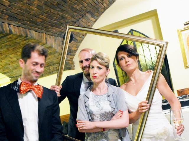 Il matrimonio di Valerio e Claudia a Lasnigo, Como 34