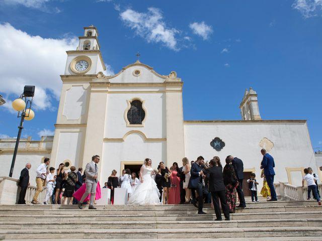 Il matrimonio di Enrico e Vanessa a Sannicola, Lecce 35