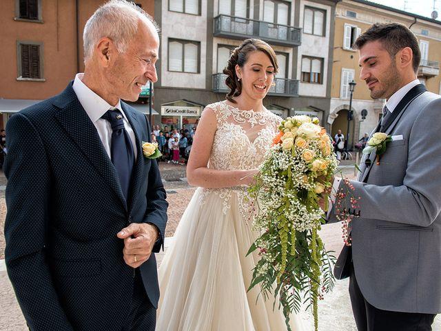 Il matrimonio di Diego e Benedetta a Verdello, Bergamo 16