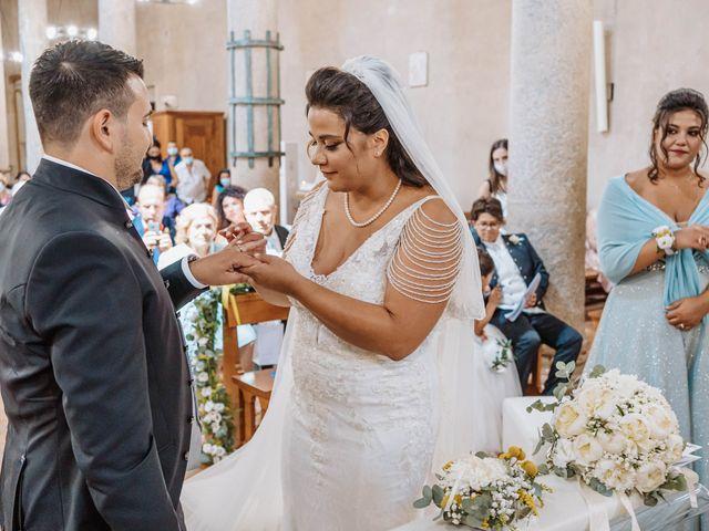Il matrimonio di Maria e Aniello a Capaccio Paestum, Salerno 79