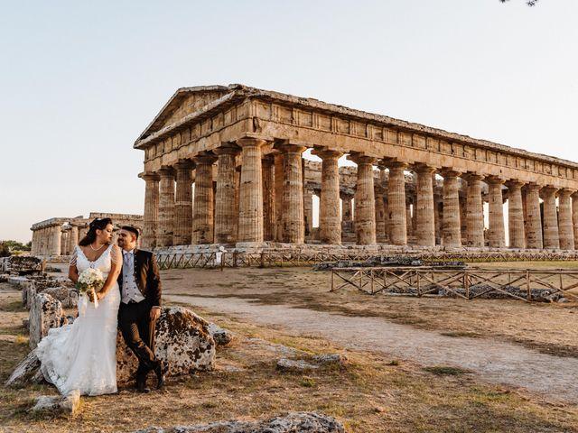 Il matrimonio di Maria e Aniello a Capaccio Paestum, Salerno 114