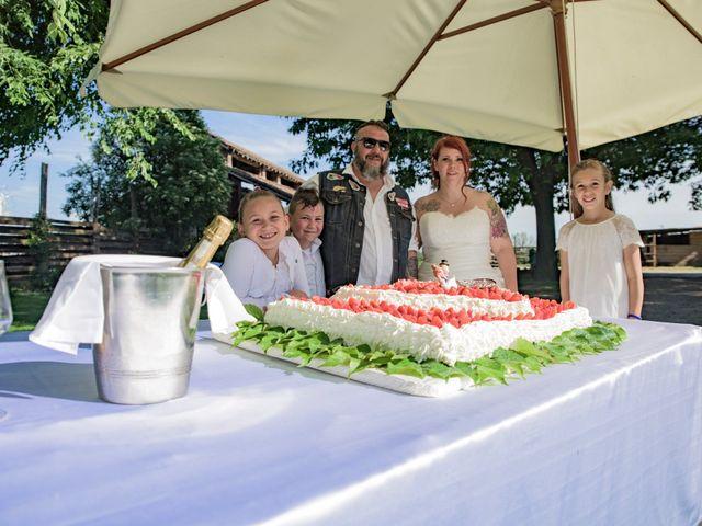 Il matrimonio di Gianluca e Sabrina a Ozzero, Milano 6