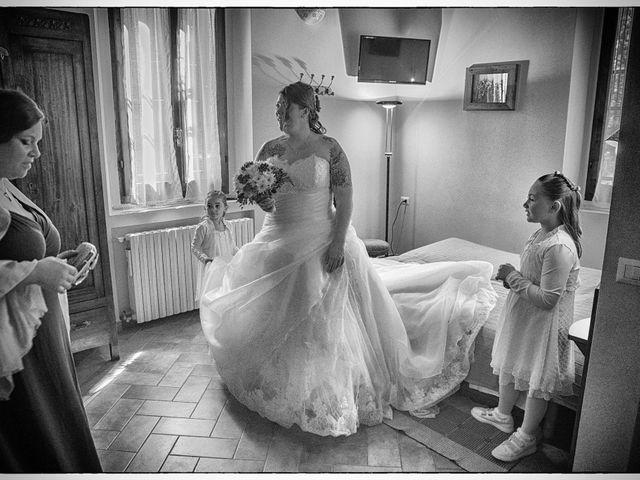 Il matrimonio di Gianluca e Sabrina a Ozzero, Milano 11