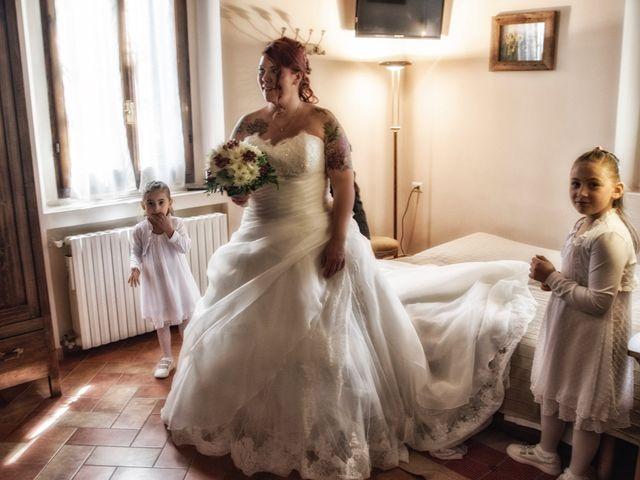 Il matrimonio di Gianluca e Sabrina a Ozzero, Milano 16