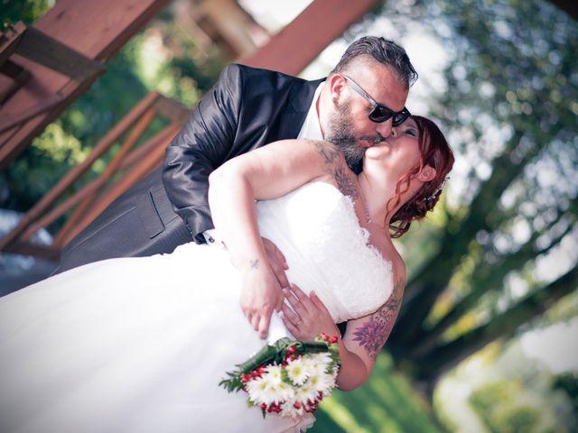 Il matrimonio di Gianluca e Sabrina a Ozzero, Milano 20
