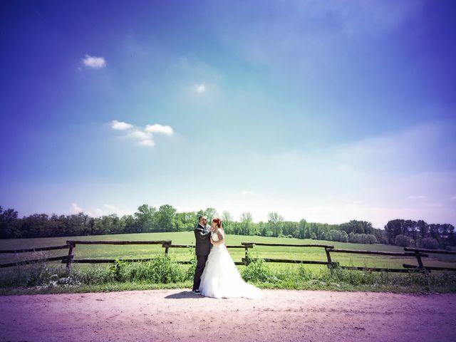 Il matrimonio di Gianluca e Sabrina a Ozzero, Milano 22