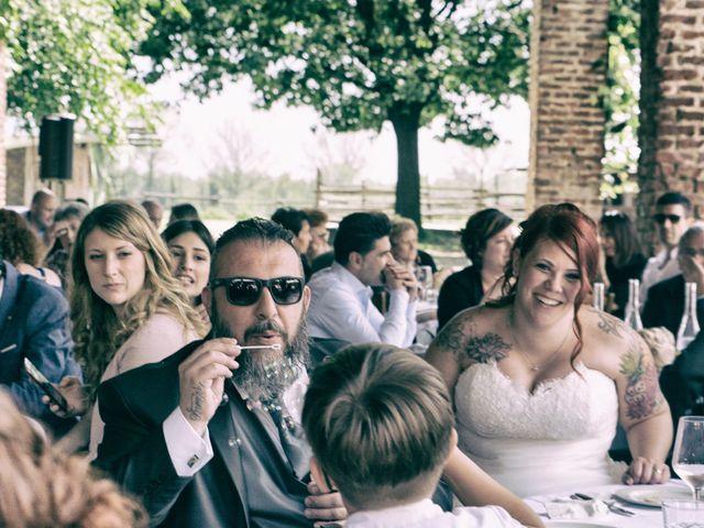 Il matrimonio di Gianluca e Sabrina a Ozzero, Milano 28