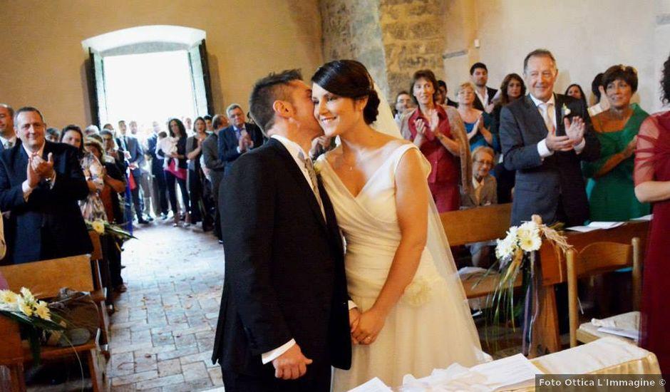 Il matrimonio di Valerio e Claudia a Lasnigo, Como