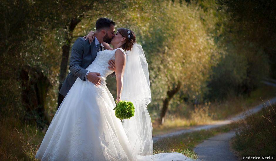 Il matrimonio di Marcello e Elisa a Massarosa, Lucca