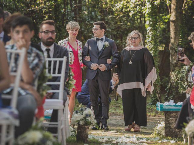 Il matrimonio di Alberto e Stefania a Albese con Cassano, Como 74