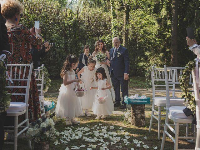 Il matrimonio di Alberto e Stefania a Albese con Cassano, Como 79