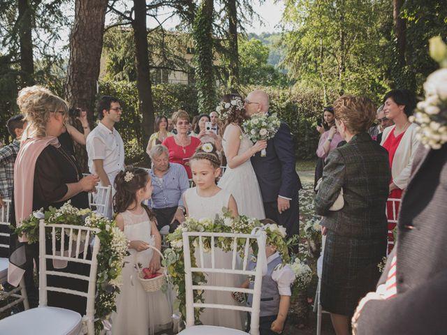 Il matrimonio di Alberto e Stefania a Albese con Cassano, Como 81