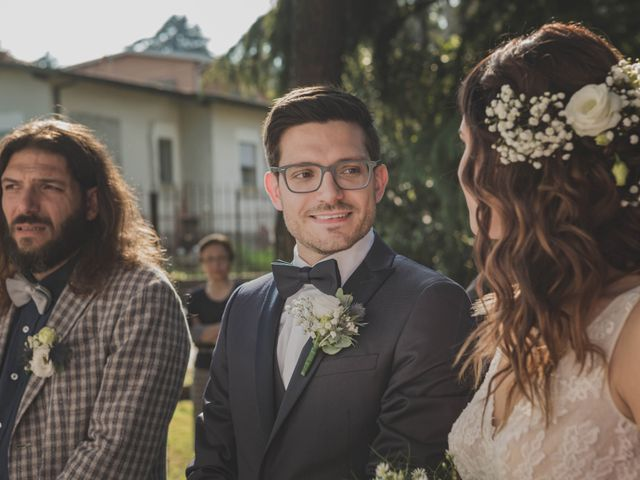 Il matrimonio di Alberto e Stefania a Albese con Cassano, Como 83
