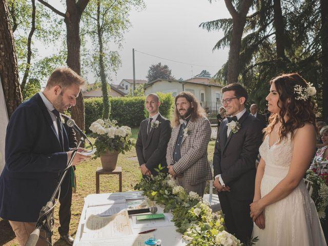 Il matrimonio di Alberto e Stefania a Albese con Cassano, Como 86