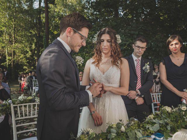 Il matrimonio di Alberto e Stefania a Albese con Cassano, Como 93