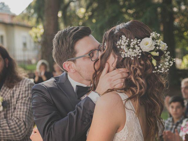 Il matrimonio di Alberto e Stefania a Albese con Cassano, Como 95