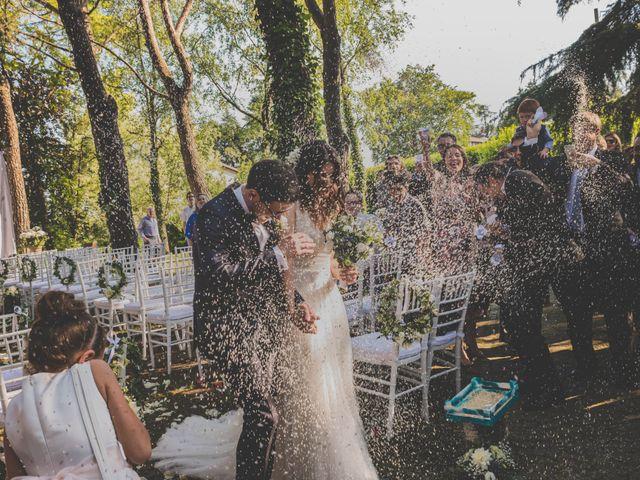 Il matrimonio di Alberto e Stefania a Albese con Cassano, Como 100